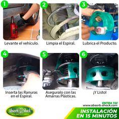 No gastes tiempo y dinero en amortiguadores para tu vehículo dale PROTECCIÓN y ve mas SEGURO con ABSORB SHOCK EL ORIGINAL, complemento para la suspensión de tu vehículo. Instalación sin desmonte de ninguna pieza de tu carro, en solo 15 minutos protección por 10 años! conoce más  #chevrolet #reductor #vehicle #vehiculos #carros #amortiguadores #hyundai #absorb #shock #kia   #absorb #shock  #Peru #mexico #bolivia #chile #costarica #autoparts #autos #honda #ford #camionetas  #renault #klio #hillux Nissan, Toyota, Mazda, Trucks, Bolivia, Cali, Pickup Trucks, Wolves, Money