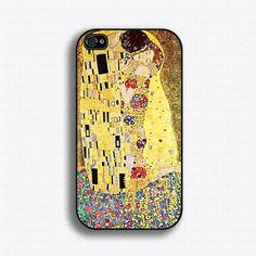 Gustav Klimt Kiss  iPhone 4 Case iPhone 4s Case by iCaseSeraSera, $15.99