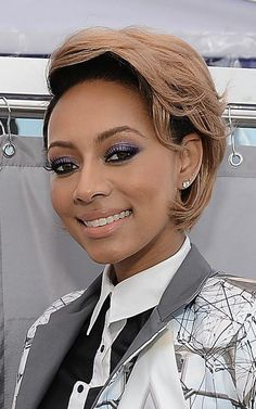 Photos of Black Short Haircuts for Women of Color: Keri Hilson