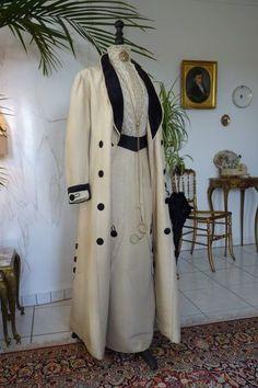 Exceptional Edwardian Walking Suit, ca. 1912