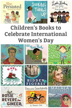 An inspiring collection of children's books for International Women's Day. These books are filled with the stories of remarkable women throughout history. Montessori Activities, Fun Activities For Kids, Kindergarten Activities, Happy Mom, Happy Kids, Children's Books, Good Books, Best Books List, Feminist Books