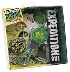 Backyard Safari Field Compass $10.50 with patch