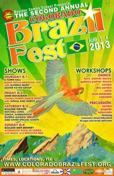 Colorado Brazil Fest | Downtown, Boulder | August 2013