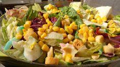 ΜΑΓΕΙΡΙΚΗ ΚΑΙ ΣΥΝΤΑΓΕΣ: Σαλάτες διάφορες !!! Hors D'oeuvres, Potato Salad, Rustic Kitchen, Salads, Food And Drink, Appetizers, Menu, Vegetables, Ethnic Recipes