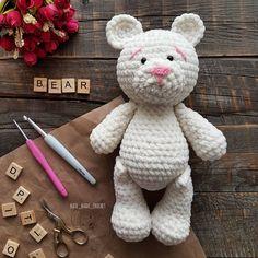 PDF Зефирный мишка. Бесплатный мастер-класс, схема и описание для вязания плюшевой игрушки амигуруми крючком. Вяжем зефирные игрушки своими руками! FREE amigurumi pattern. #амигуруми #amigurumi #схема #описание #мк #pattern #вязание #crochet #knitting #toy #handmade #поделки #pdf #рукоделие #мишка #медвежонок #медведь #медведица #bear #teddybear #teddy #плюшевый #зефирный #plush