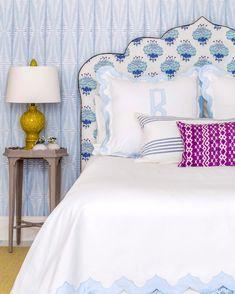 Go to Top interior design trends Blue Bedroom, Bedroom Decor, Master Bedroom, Diy Wall Decor, Diy Home Decor, Fern Wallpaper, Mug Design, Inspiration Design, Home Staging