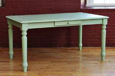 painted farmhouse table