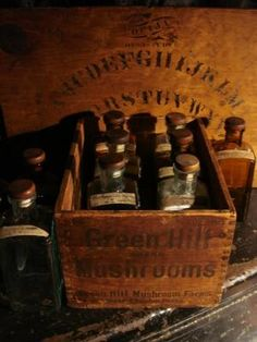 Set of 10 Very Rare 19th Century Homeopathic Apothecary Bottles