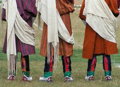 Traditional boots in #Bhutan
