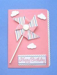 Image result for Simple Handmade Birthday Card Ideas