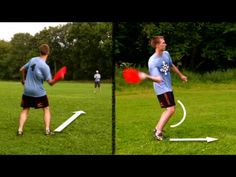 How to throw a #frisbee #video - Forehand Technique. #ultimatefrisbee