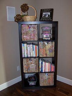 Alternative to classic bookcase