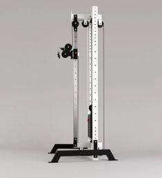 Crossover, Diy Gym Equipment, No Equipment Workout, Home Made Gym, Gym Setup, Cable Machine, Smith Machine, Home Gym Design, Polaroid