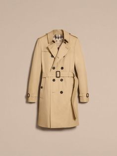 Trench-coat Heritage long The Chelsea Miel | Burberry