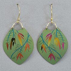Holly Yashi Mystic Summer Earrings - Green