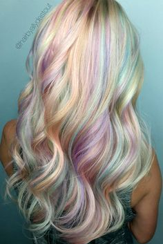 Pastel Hair Ideas Youll Love ★ See more: http://glaminati.com/pastel-hair-ideas-you-love/
