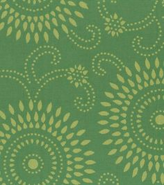 Home Decor Fabric-Annie Selke Esha Citrus/Ivy