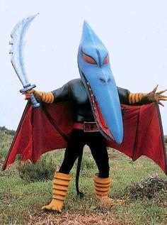 talesfromweirdland:The wonderful world of Tokusatsu. Bird Masks, Weird Vintage, Scary Monsters, Bizarre, Retro Futurism, Power Rangers, Godzilla, Character Design, Character Art