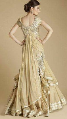 Gaurav Gupta Dress-back