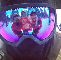 Ski bunnies  #goggles