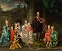 Leopold II with family