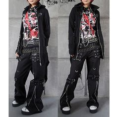 rock clothes | Gothic and Punk Rock Clothing Mens Womens Chain Pants Trousers SKU ...