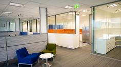 A wide range of partitioning was supplied by Bris to complete the new office interior for Port of Brisbane Authority.