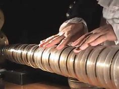 """""""Dance of the Sugar Plum Fairy"""" on the Glass Armonica.  Instrument is made from Lead glass goblets or bowls.  The sound is haunting.  The instrument's popularity did not last far beyond the 18th century. Some claim this was due to strange rumors that using the instrument caused both musicians and their listeners to go mad."""