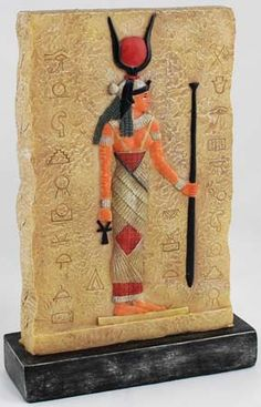 Isis Standing Plaque