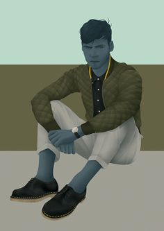 Jack Hughes Illustration | Mr Hyde and Doc Martens