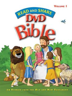Read and Share DVD Bible - Volume 1   Share the joy and wonder of God's Word with the children in your life.   $13.92 at ChristianCinema.com