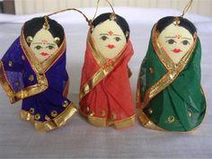 Day 8 - DIY Sock Doll in a saree - Artsy Craftsy Mom