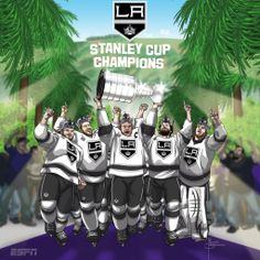 All hail the L.A. Kings! 2014 Stanley Cup Champions!