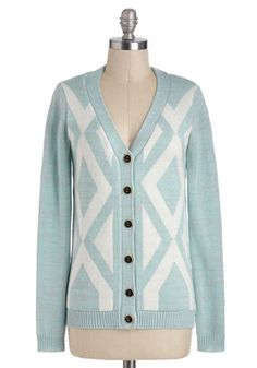 Monday Morning Sky Cardigan, #ModCloth