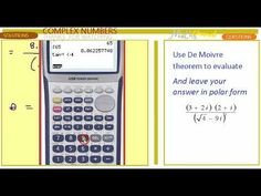 COMPLEX Number De Moivre theorem Complex Numbers, Good Grades, This Or That Questions