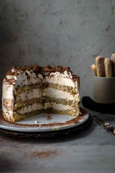 This super delicious Tiramisu Cake recipe comes with detailed step-by-step photos and video. Tiramisu Cake Recipe by Also The Crumbs Please tiramisu tiramisucake cake italiandessert dessert baking tiramisucakerecipe Best Cake Recipes, Sweet Recipes, Dessert Recipes, Healthy Recipes, Tiramisu Recipe, Tiramisu Cake, Food Cakes, Cupcake Cakes, Just Desserts
