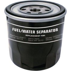 Seachoice Fuel/Water Separator Canister Only, Black