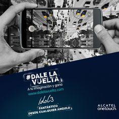 ¡Tu opinión importa! ¡Vota por tus fotos favoritas de #DaleLaVuelta! El miércoles anunciaremos quiénes quedaron como finalistas de esta semana. Recuerda, ¡el Jurado Onetouch sólo tomará en cuenta los 10 participantes con más votos! Todos los finalistas ganan un smartphone #AlcatelOnetouch #Idol3 y serán considerados para el premio final:  ¡Fantástico viaje de 15 días por Latinoamérica con acompañante!
