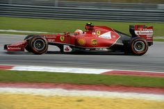 MSport Girl  (@AttachMax) | Twitter: Kimi Raikkonen (Ferrari F14 T),   F1 GP Malesia 2014.