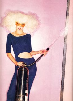 afrostyle: Arianne Phillips by David LaChapelle for The Face Magazine July 1994
