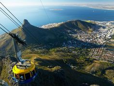 Table Mountain, South Africa via National Geographic