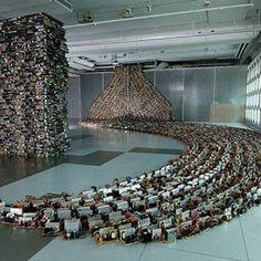 """B-side Ecology"" de Susan Stockwell , em exposição no MEME Space,Taipei,Taiwan #arquitetura #arte #art #artlover #design #architecturelover #instagood #instacool #instadesign #instadaily #projetocompartilhar #shareproject #davidguerra #arquiteturadavidguerra #arquiteturaedesign #instabestu #decor #architect #criative #photo #decoracion #bsideecology#susanstockwell#memespace#taipei#taiwan"