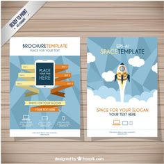 Now we also create exclusive designs for you, free for both personal & commercial use. Brochure Template, Slogan, Vector Free, Layout, Graphic Design, Templates, Inspiration, Model, Free Vector Art