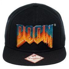 DOOM Logo Snapback Hat