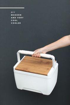 Schicke Kühlbox selbst gemacht - Augenpralinen - kreativ und individuell Wohnen und Einrichten