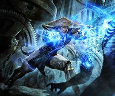 Raiden.. Concept Art from Mortal Kombat 2011