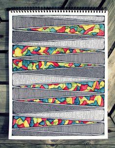 Lots of Detail Rebecca Blair Artwork Zentangle Drawings, Mandala Drawing, Doodle Drawings, Mandala Art, Zentangles, Kunstjournal Inspiration, Art Journal Inspiration, Doodle Art Journals, Art Journal Pages