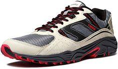 All Terrain Gear Series / Trail Running Schuhe Ergonomisch robustes und robustes Design für Schutz ohne auf Komfort verzichten zu müssen. Hergestellt aus Netz, Nylon-Gurtband und hochwertigen PU-Materialien für Haltbarkeit. Speziell entwickelte Zwischensohle, die Stöße und Fußschläge auch in härtesten Umgebungen absorbiert und mit einer TPR-Material Außensohle für dynamische Griffkraft und Stabilität sorgt. Vom täglichen Leben bis hin zum Freien. Der T330 ist sowohl für gepflasterte Straßen… Best Trail Running Shoes, Hiking Shoes, Turf Shoes, Women's Shoes, Nylons, Adidas Men, Nike Men, Discount Designer Shoes, Champion Shoes