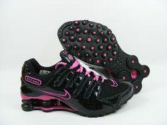 Womens Nike Shox NZ Black Pink