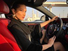 "23.9k Likes, 192 Comments - Bella Hadid (@bellahadid) on Instagram: ""Driving to Abu Dhabi ❤️"""